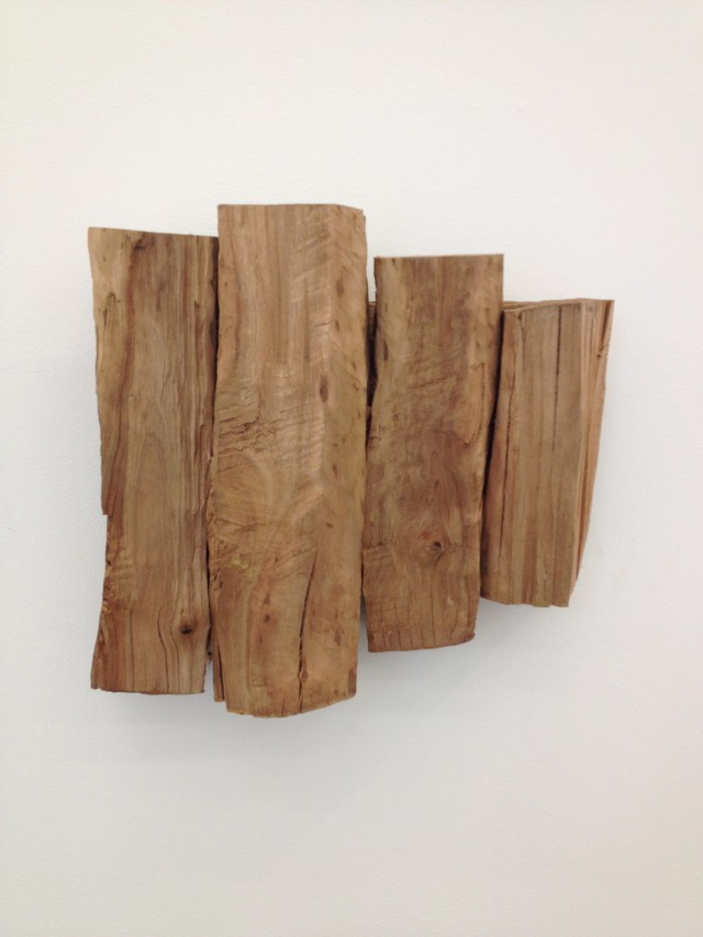 Richard Nonas at James Fuentes
