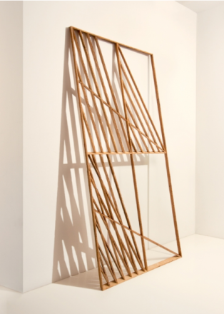 "Andy Vogt, ""Shadeshape 3"" made from salvaged wood.  source: www.eliridgway.com"