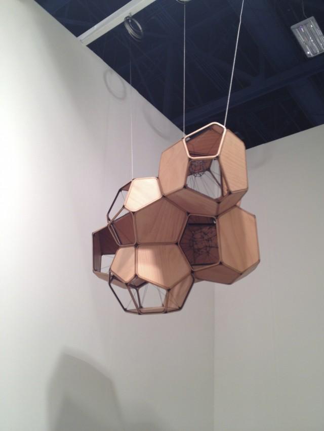 Tomas Saraceno at Tanya Bonakdar Gallery