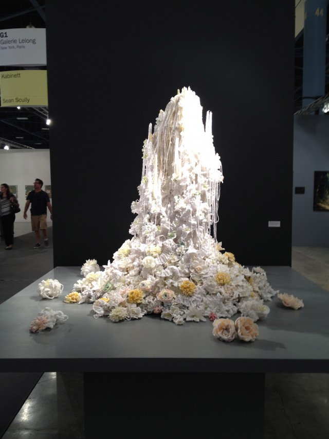 Petah Coyne at Galerie Lelong