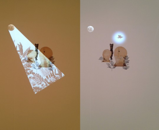 Two views of Stas Orlovski at Traywick Contemporary Gallery