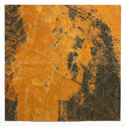 "Clarissa Tossin ""Sutdy for a Landscape (Brasilia), 2012 folded archival inkjet print"