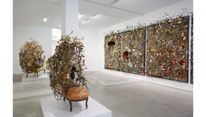 Nick Cave 'Rescue' exhibition view at Jack Shainman Gallery, 524 West 24th Street location.