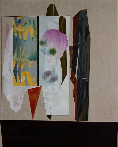 "Rubens Ghenov ""Ob Verse, Dusk1' 2014, acrylic on linen"