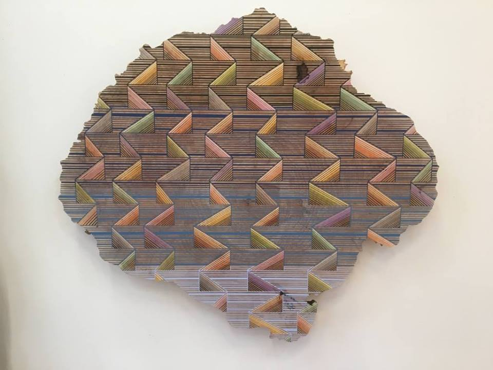"Jason Middlebrook ""21 Ways to get your Groove On"" 2016. Image courtesy of Gallery 16."