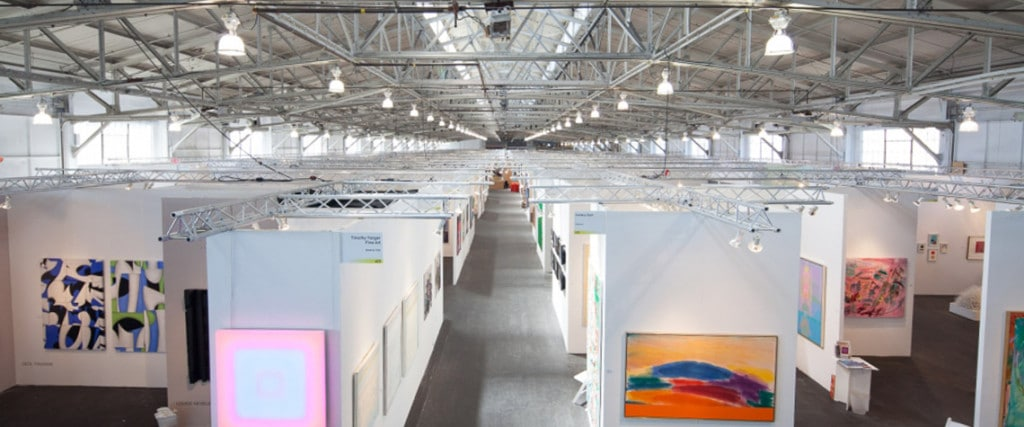 Interior image of Art Market SF, 2014