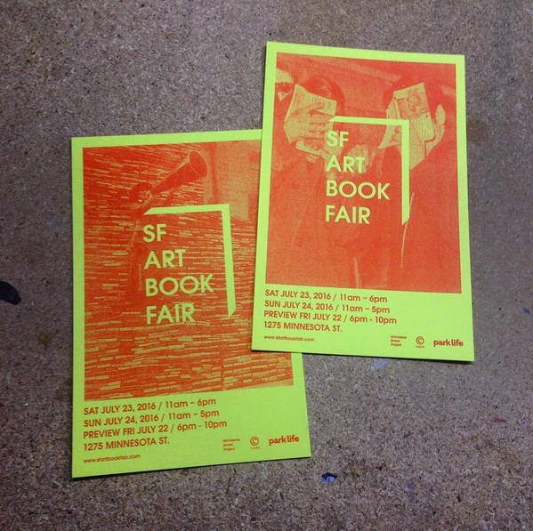 Image Courtesy of SF Art Book Fair