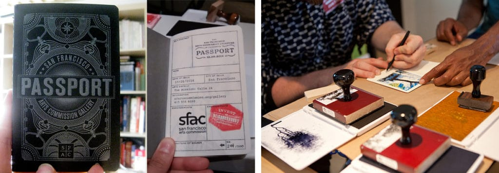 Images from past SFAC Passport events.