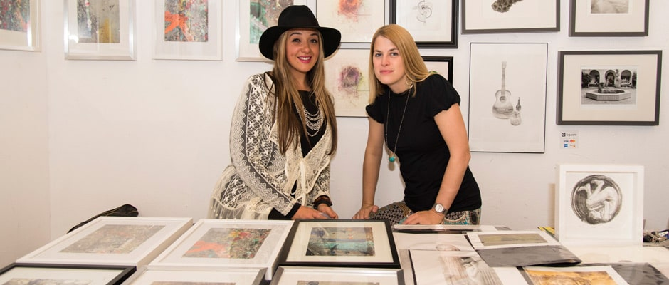 SFAI artists from last year's event. Image courtesy of SFAI.
