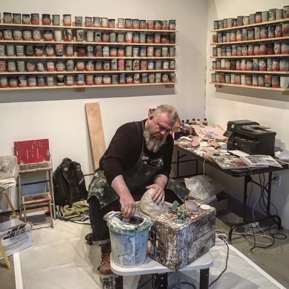 Veteran artist Ehren Tool